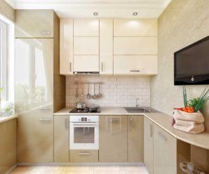 Кухня 9 метров — дизайн интерьера