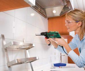 Как просверлить кафельную плитку, чтобы она не треснула